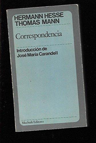 9788472640023: Correspondencia (en español)