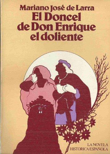 9788472730601: El Doncel de Don Enrique el doliente.