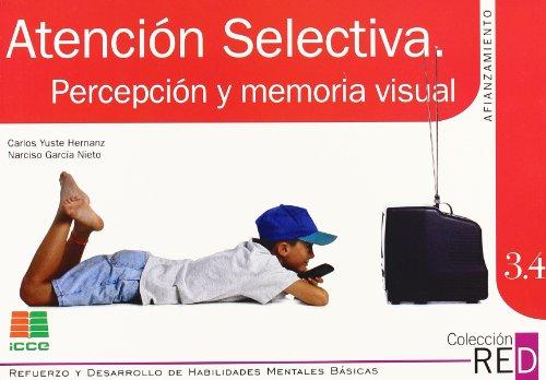9788472781535: RED 3.4: atención selectiva, percepción y memoria visual