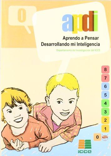 9788472782358: Aprendo a pensar desarrollando mi inteligencia (APDI). Tomo 0 -Educ.Inf.(4/5años)-(R)(2001)