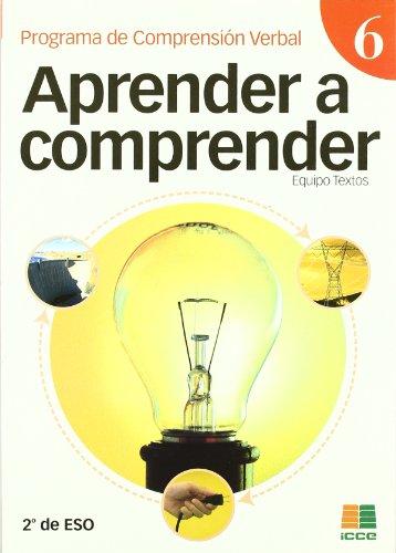 9788472782839: Aprender a comprender 6