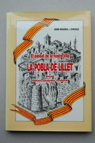 La Pobla de Lillet: El passat de: Joan Rosinol i