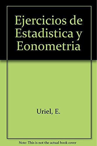 9788472881068: Ejercicios de Estadistica y Eonometria (Spanish Edition)