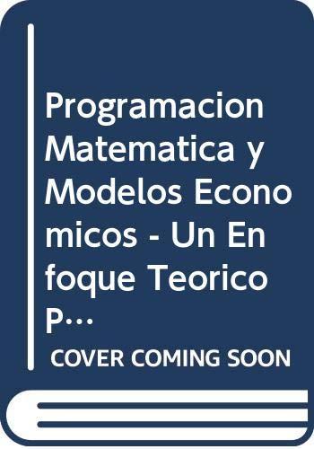 Programación matemática: Heras / Gutierrez