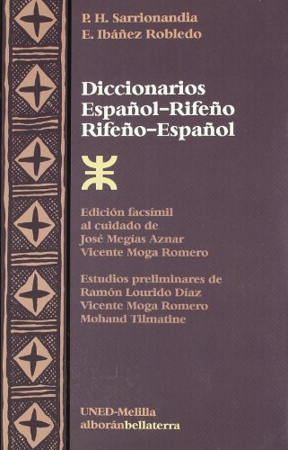 9788472903647: Diccionarios. Español-Rifeño. Rifeño-Español (Alboran (bellaterra))