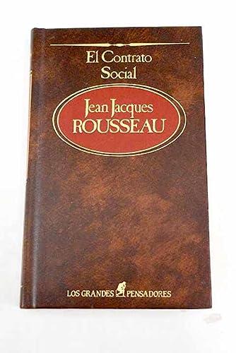 El contrato social: Jean Jacques Rousseau