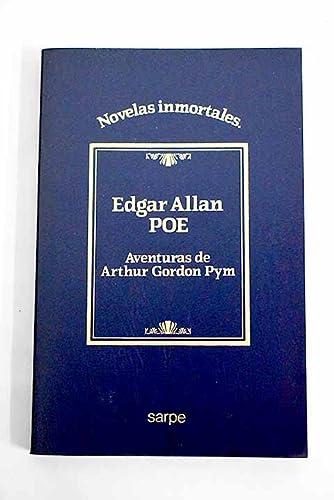 9788472917002: Aventuras de Arthur Gordon Pym