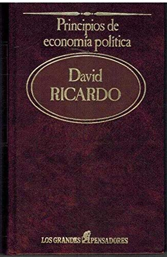 PRINCIPIOS DE ECONOMÍA POLÍTICA. Traducción de E.: RICARDO, David