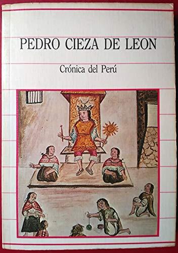 9788472919624: Cronica del Perú