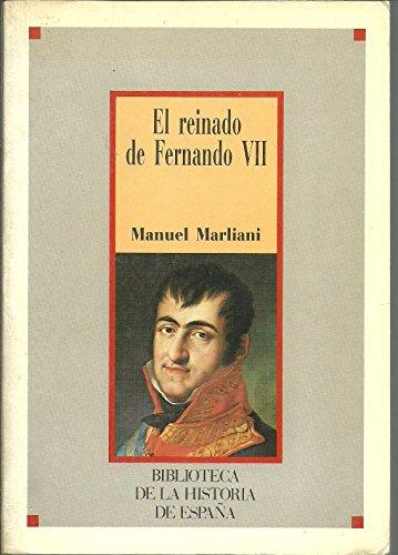 9788472919969: El Reinado de Fernando VII
