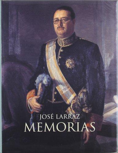 9788472963085: José larraz. memorias