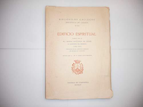 9788472990050: Edificio espiritual