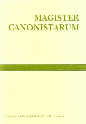"""9788472993228: Magister canonistarum: estudios con motivo de la concesión al Prof. Dr. D. Urbano Navarrete, S. I., del doctorado """"Honoris Causa"""" (Bibliotheca Salmanticensis)"""