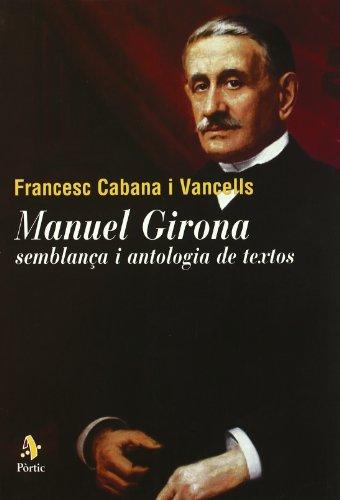 9788473068031: Manuel Girona. Semblança i antologia de textos (FORA COL·LECCIO)