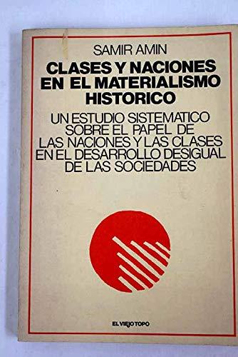 9788473110419: Clases y naciones en el materialísmo histórico