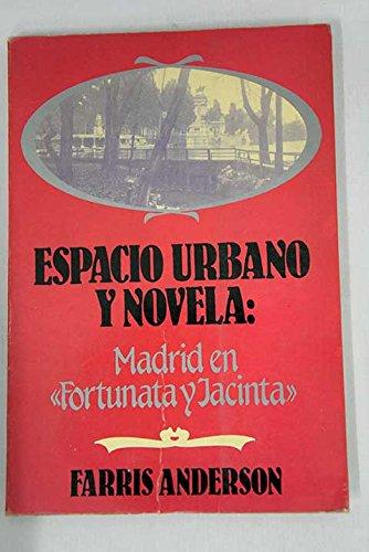 9788473171588: Espacio urbano y novela: Madrid en