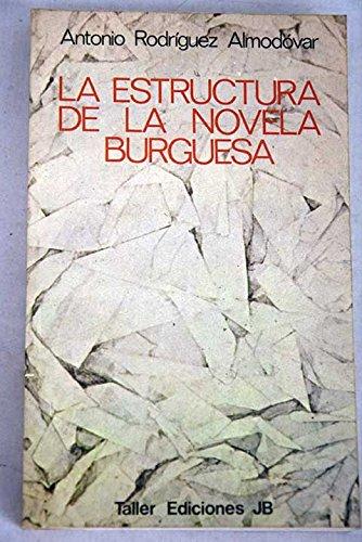 La estructura de la novela burguesa (Serie: Almodovar, Antonio Rodriguez