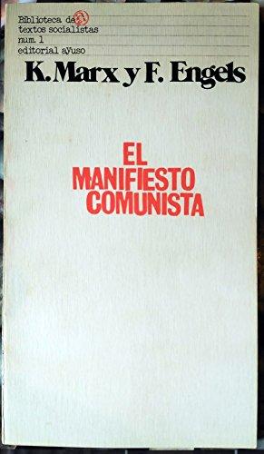 9788473392020: El manifiesto comunista