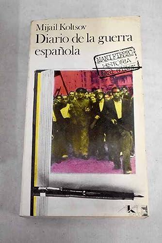 9788473393409: Diario de la guerra española.