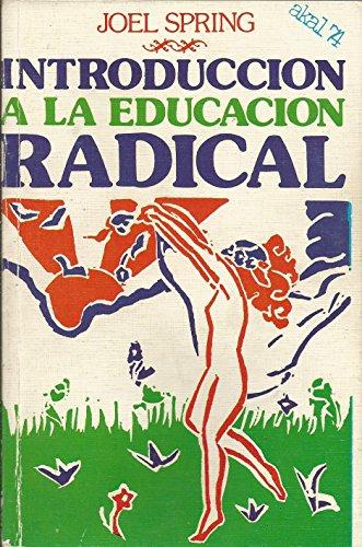 9788473393645: Int. a la educacion radial *