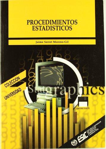 PROCEDIMIENTOS ESTADÍSTICOS (Madrid, 1998): Jaime Serret Moreno-Gil