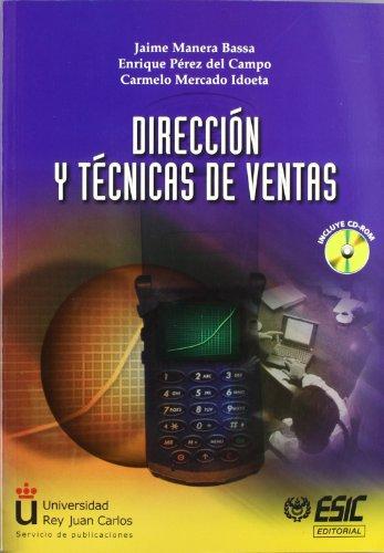 9788473562478: Direccion y tecnicas de ventas (+ CD-rom)