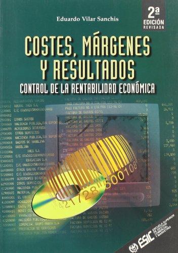 9788473563277: Costes, márgenes y resultados