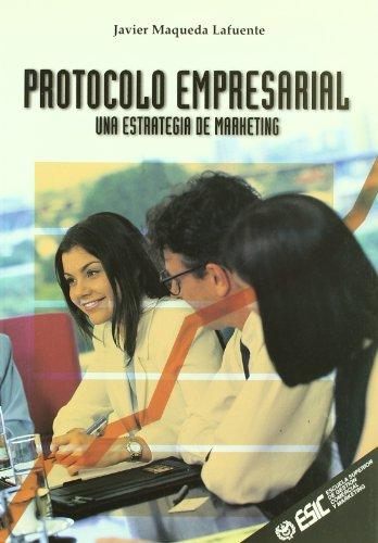 Protocolo empresarial: Javier Maqueda Lafuente