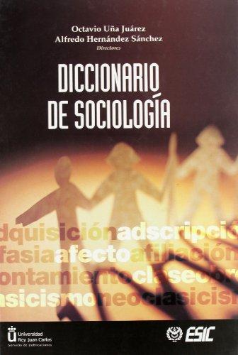 9788473563598: Diccionario de Sociología (Libros profesionales)