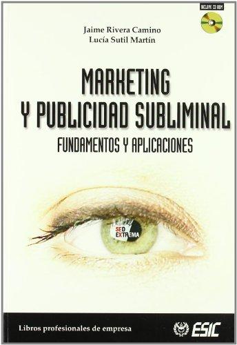 9788473563901: Marketing y publicidad subliminal