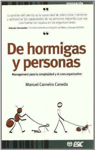 De hormigas y personas (Paperback): Manuel Carneiro Caneda