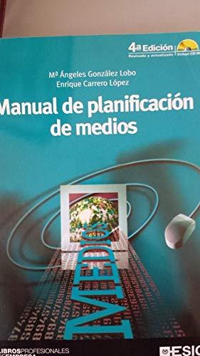 9788473564632: Manual de planificacion de medios