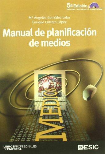 9788473565233: Manual de planificación de medios (Libros profesionales)