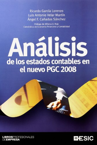 Análisis de los estados contables en el: García Lorenzo, Ricardo;