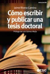 9788473567503: Cómo escribir y publicar una tesis doctoral