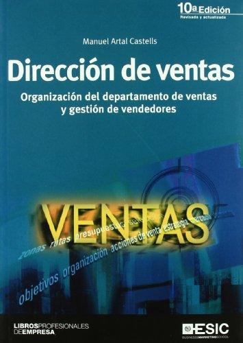 9788473567688: Dirección de ventas: organización del departamento de ventas y gestión de vendedores (Libros profesionales)