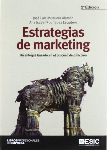 9788473568197: Estrategias de marketing. Un enfoque basado en el proceso de dirección (Libros profesionales)