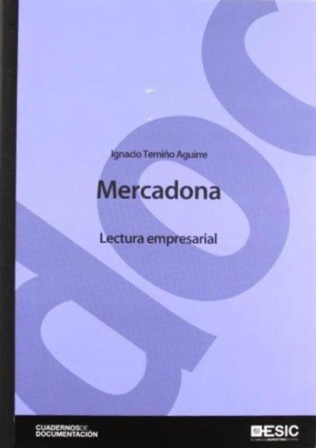 9788473568524: Mercadona (Cuadernos de Documentación)