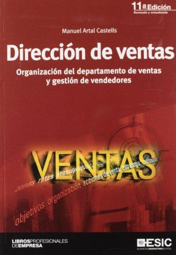 9788473568739: Dirección de ventas: organización del departamento de ventas y gestión de vendedores (Libros profesionales)