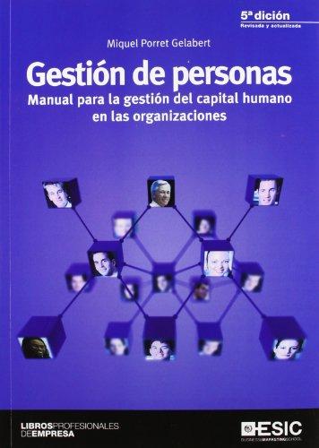 9788473568791: GESTION DE PERSONAS MANUAL PARA LA GESTION DEL CAPITAL HUMANO