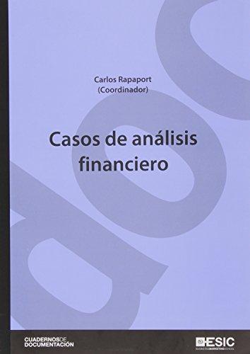 9788473569699: Casos de análisis financiero (Cuadernos de Documentación)