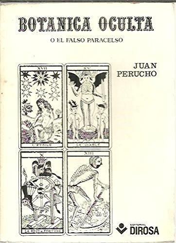9788473580038: Botanica oculta ; o, El falso paracelso (Coleccion Bolsillo ; no. 1) (Spanish Edition)