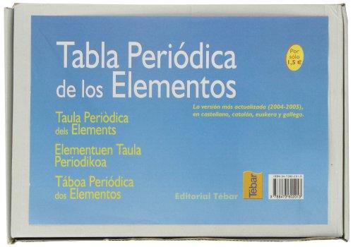 9788473602013: CAJA TABLA PERIODICA DE LOS ELEMENTOS