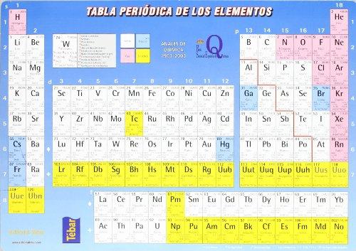 9788473602174: TABLA PERIODICA DE LOS ELEMENTOS CASTELLANO
