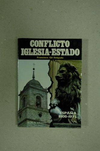 9788473800396: Conflicto iglesia-estado (Spanish Edition)