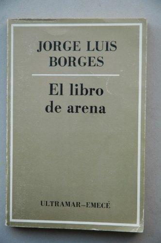 9788473860123: El libro de arena / Jorge Luis Borges