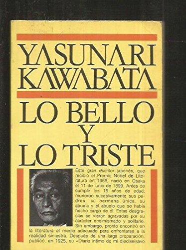 Lo bello y lo triste (9788473861854) by Yasunari Kawabata