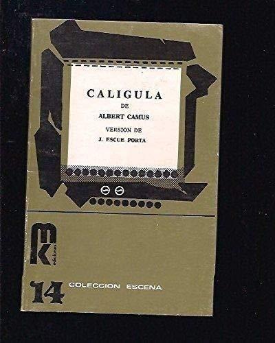 9788473890069: Calígula