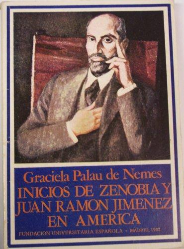 Inicios de Zenobia y Juan Ramon Jimenez en America: Palau de Nemes, Graciela