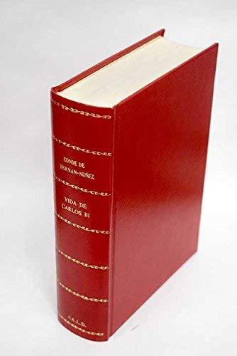 Vida de Carlos III (Publicaciones de la Fundacion Universitaria Espanola) (Spanish Edition): ...